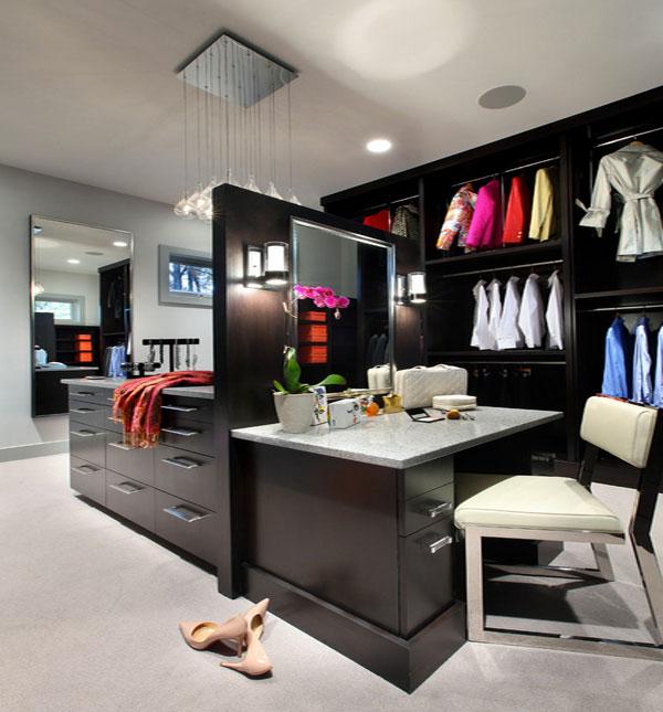 Женский гардероб в чёрном цвете