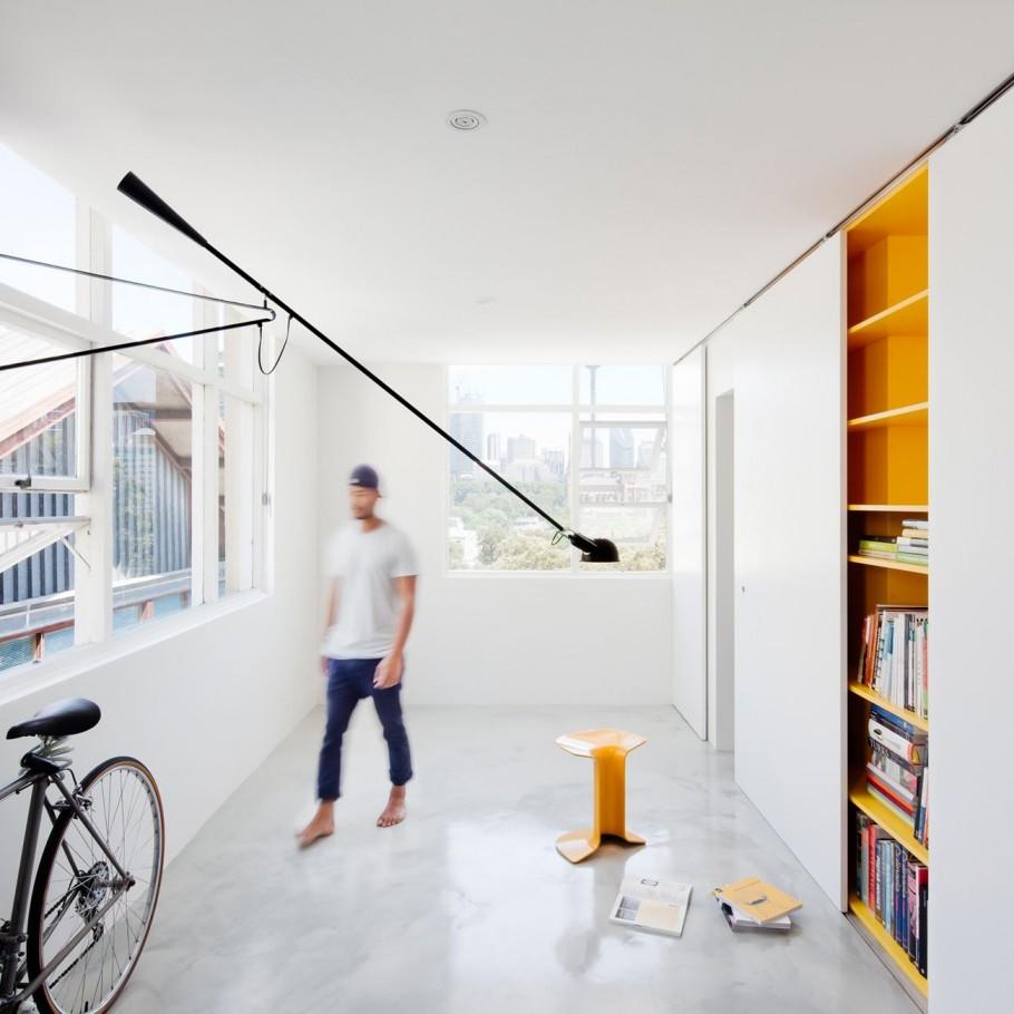 Планировка апартаментов Mighty Mouse от Николаса Гарни