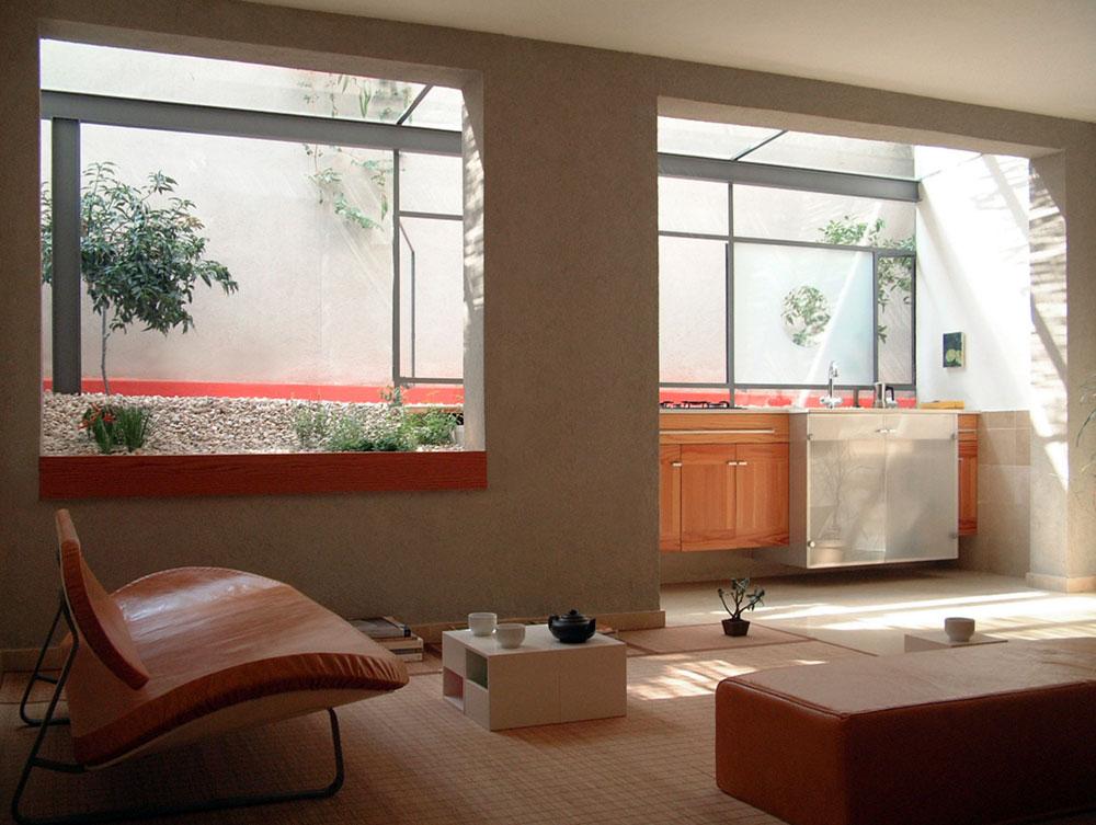 Необычный интерьер маленькой квартиры