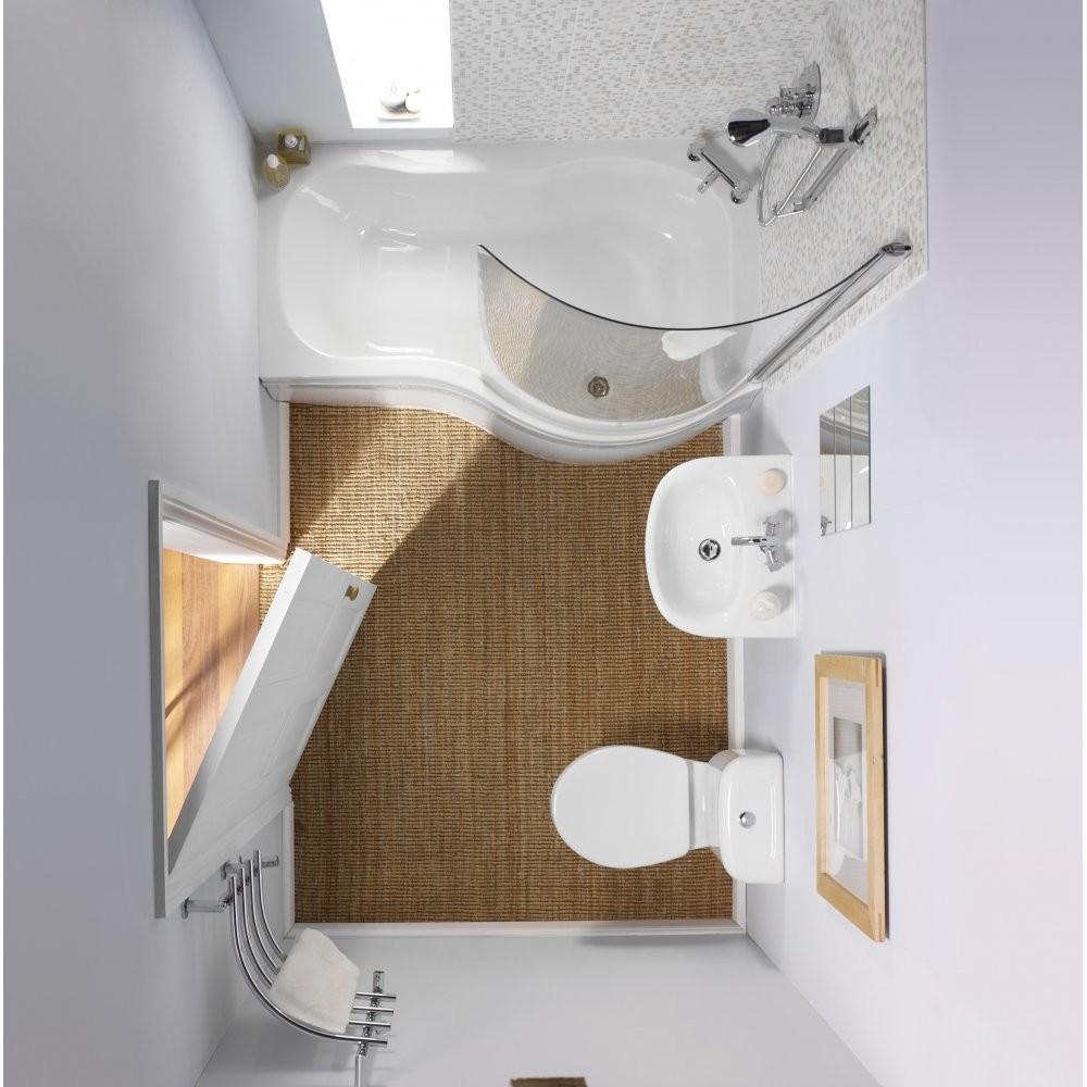 Ванна со стеклянной дверцей