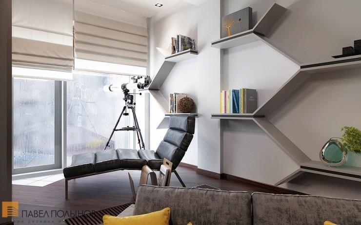 Божественный минимализм в строгом интерьере квартиры-студии