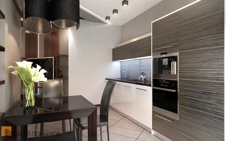 Восхитительный минимализм в строгом интерьере квартиры-студии