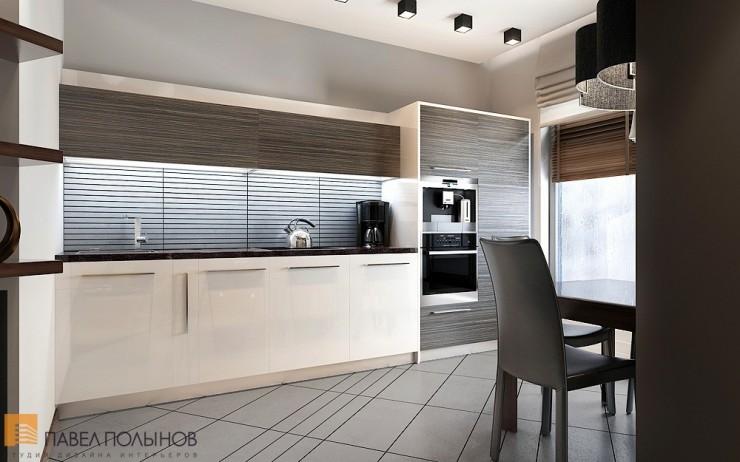 Крассивый минимализм в строгом интерьере квартиры-студии