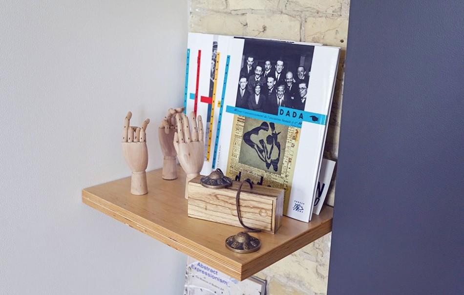Сувениры и аксессуары в однокомнатной квартире