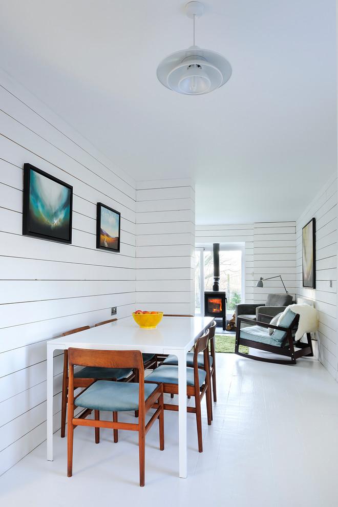 Увеличение пространства с помощью белого цвета