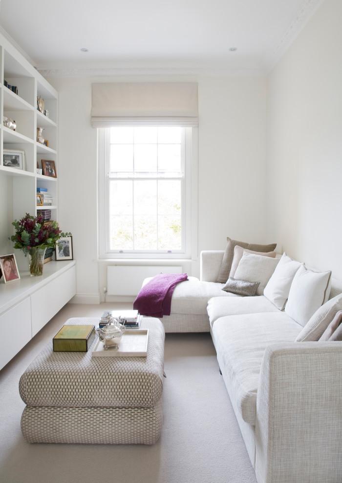 Увеличение пространства в гостиной комнате