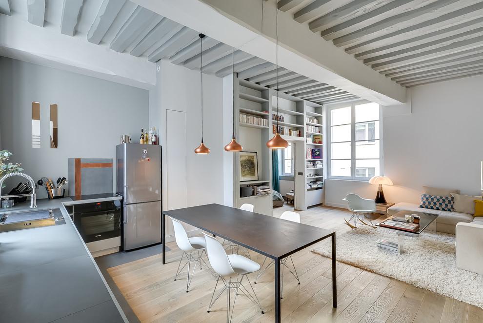 Увеличение пространства в квартире-студии