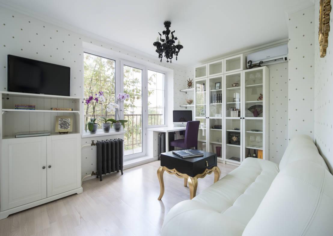 Увеличение пространства в гостиной