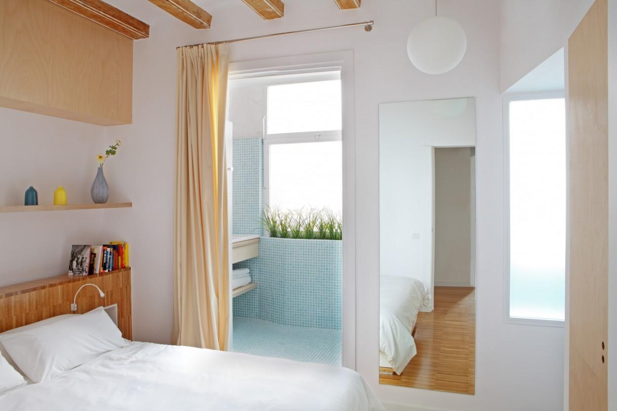 Спальня без дверей