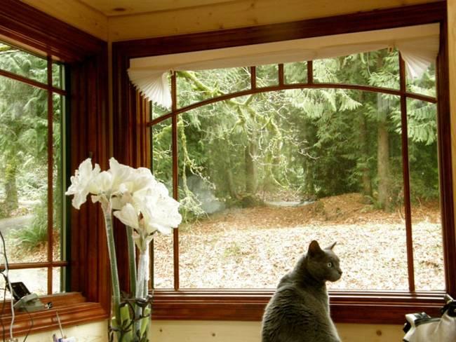 Балконная зона в уютном маленьком доме