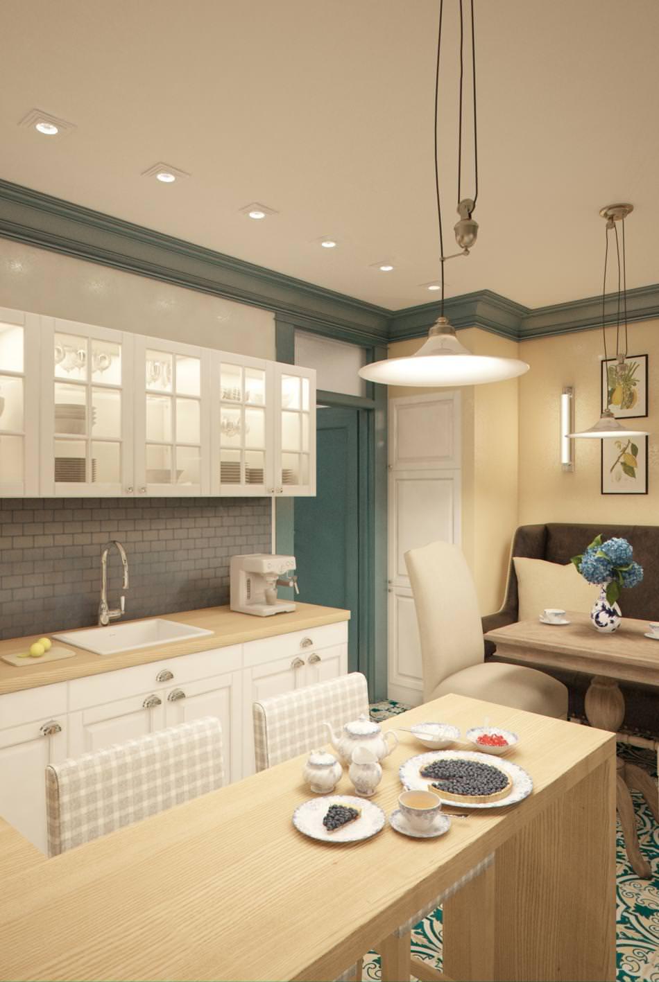 Дизайн квартиры узкой