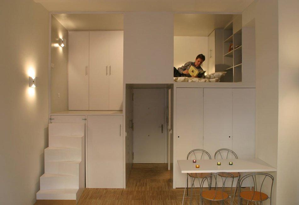 Как из комнаты сделать маленькую квартиру