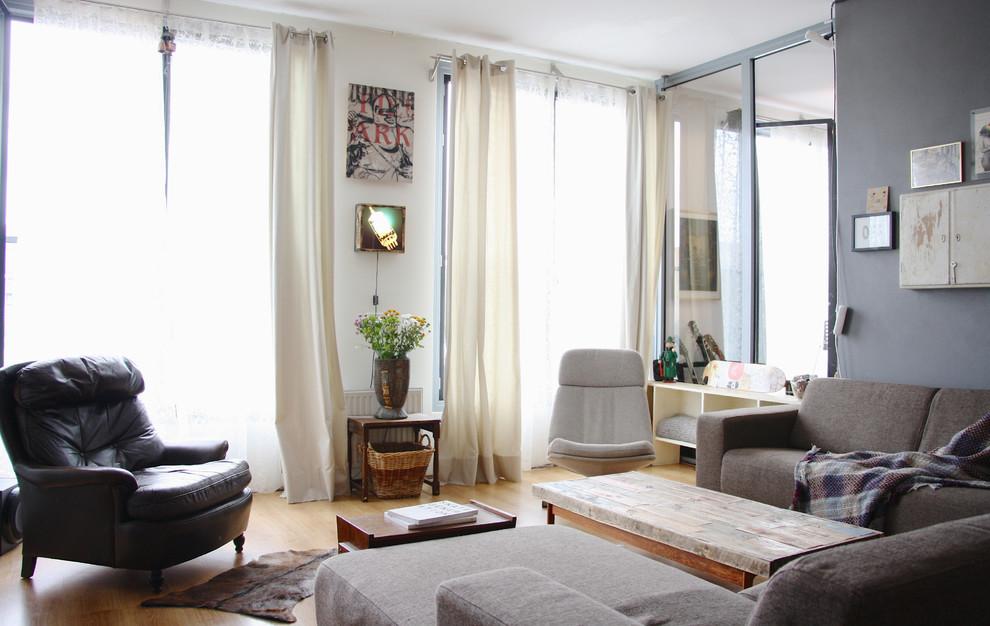 Гостиная квартиры в Амстердаме