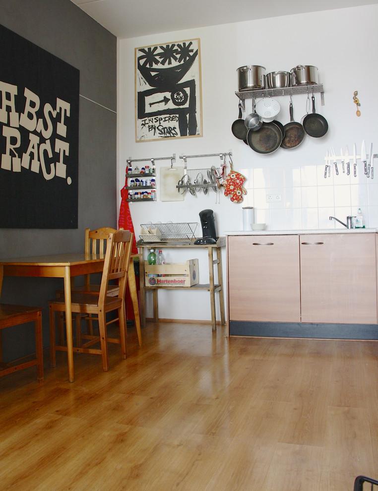 Кухня квартиры в Амстердаме