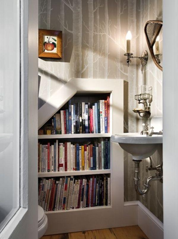 Библиотека в ванной