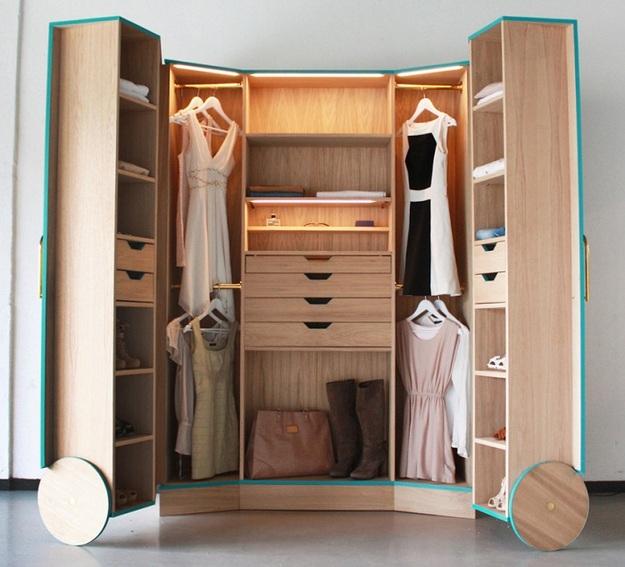 Трансформируемая гардеробная
