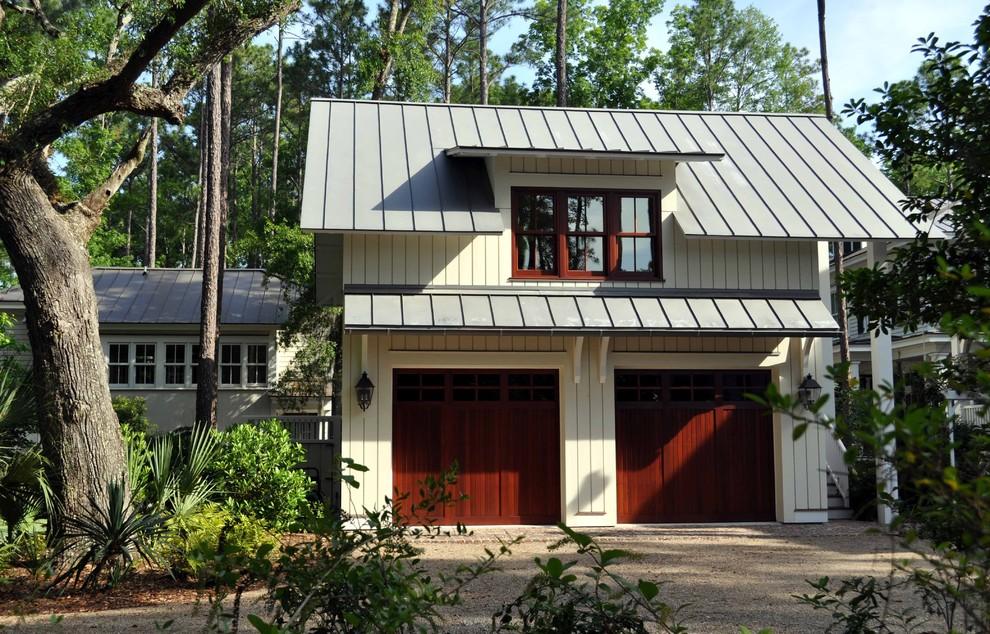 Комната над гаражом для двух машин