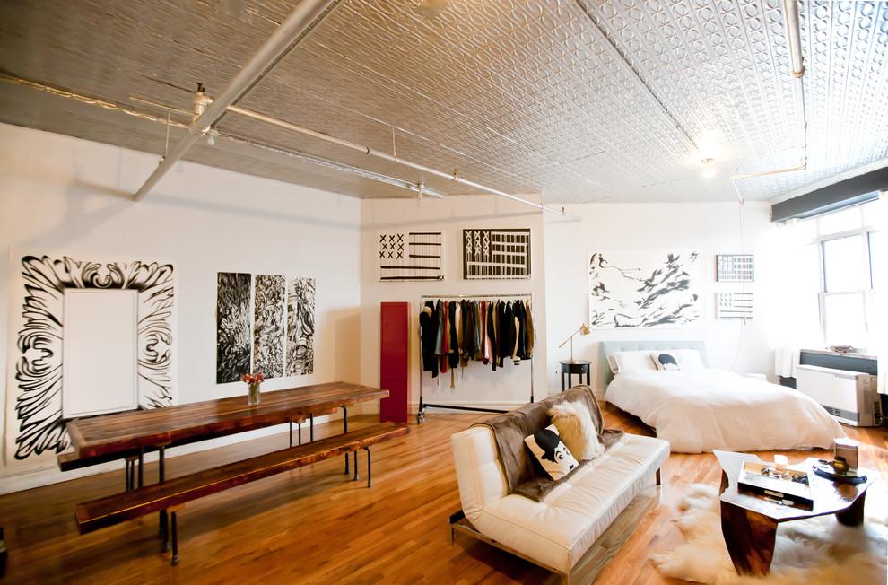 Интерьер стильной квартиры в Бруклине