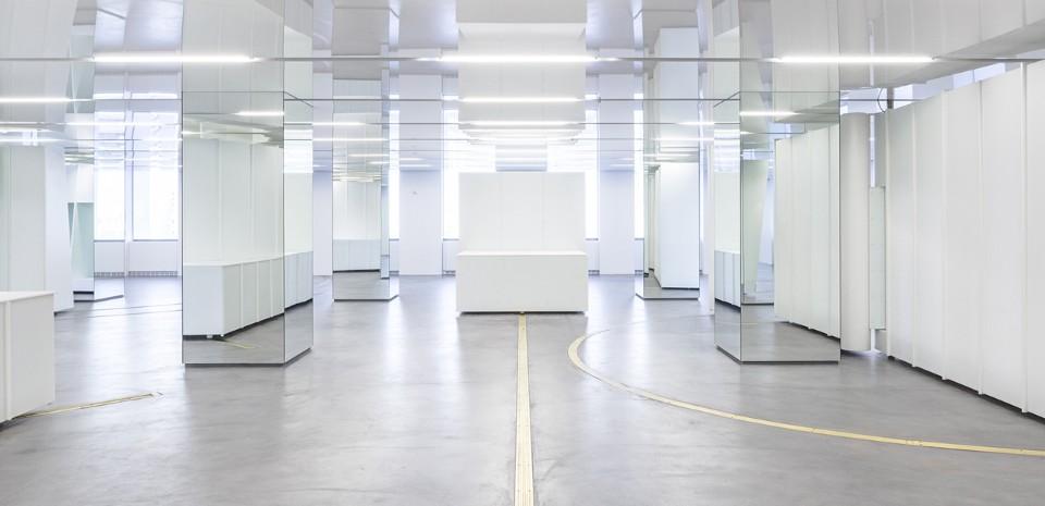 Выставочный зал Versace в Нью-Йорке