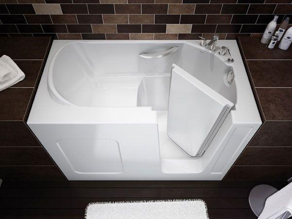 Дизайнерская прямоугольная ванна с дверцей