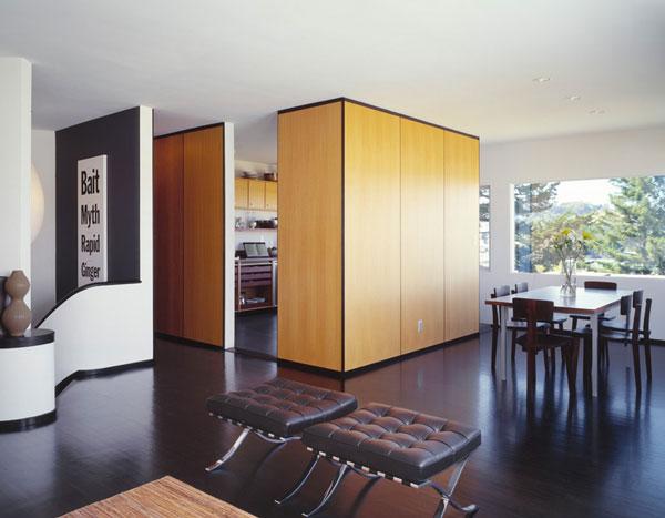 Перегородки в интерьере современной квартиры