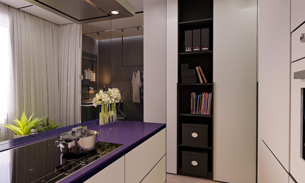 Яркий дизайн кухни - фото 2