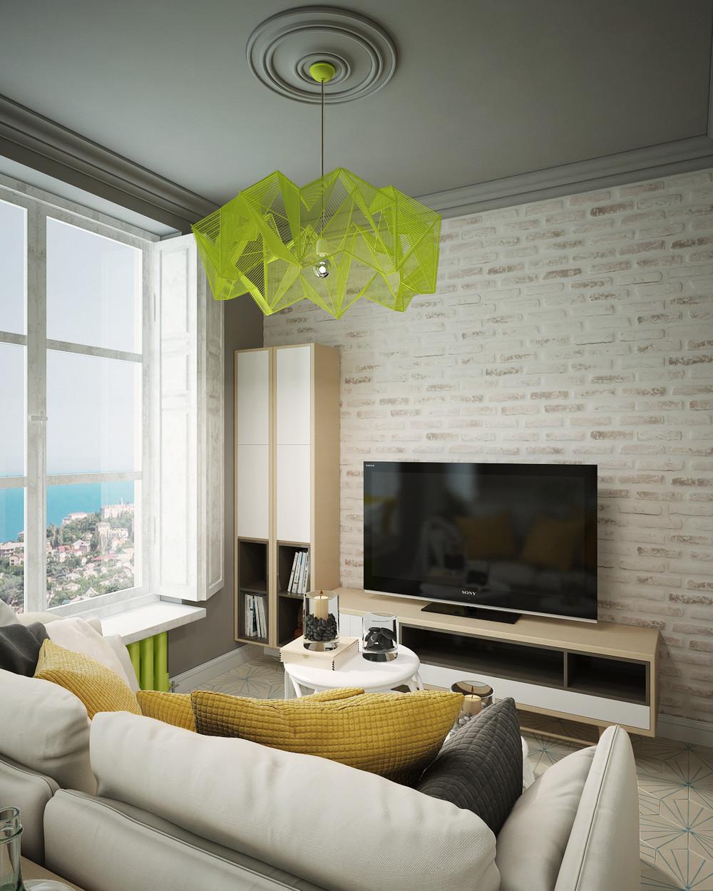 Дизайн квартиры с яркими акцентами - фото 3