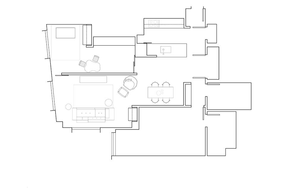 Планировка квартиры с открытой планировкой
