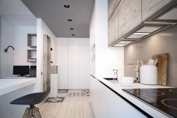 Яркие акценты в интерьере небольших квартир