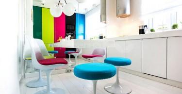 Разукрасьте свою квартиру яркими красками!