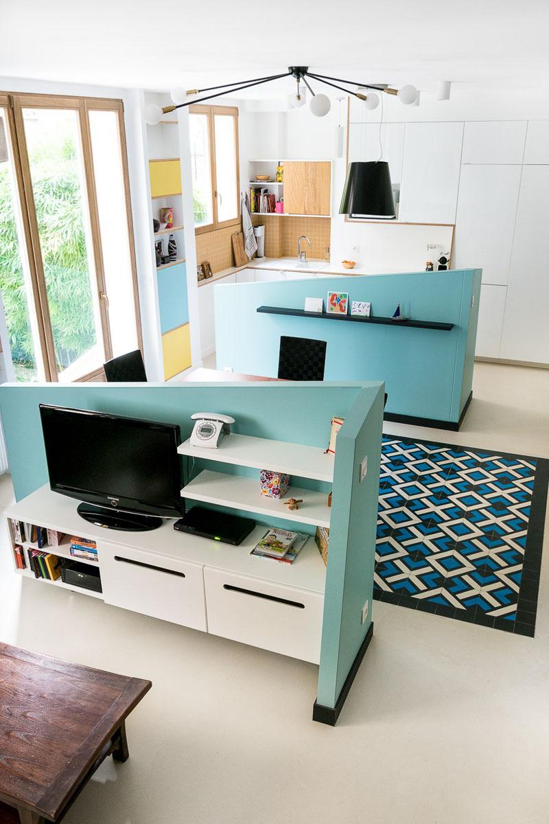 Идея интерьера для маленьких квартир от студии MAEMA Architects - фото 2