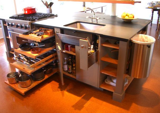 Мобильный кухонный гарнитур